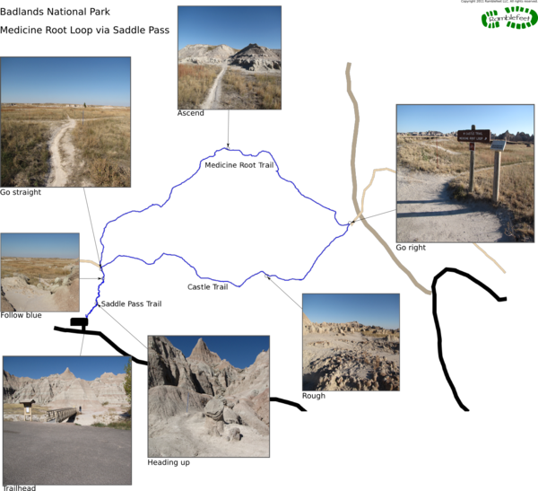 Medicine Root Loop Trail